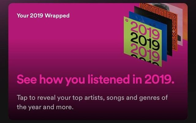 Spotify Wrapped Screenshot